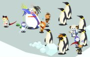 Guardians vs. Giant Penguins!